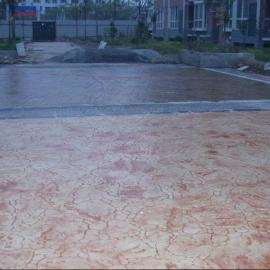 水泥压模地面 混凝土压模路面 道路压模