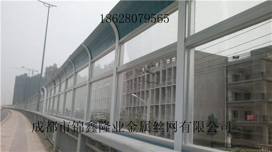 四川高铁声屏障 道路降噪声屏障 铁路隔音墙