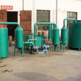 中豫瑞光RG-08系列木炭机采用无烟炭化的新技术