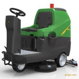 玛西尔供【高铁站专用】中型驾驶式洗地机DQX86