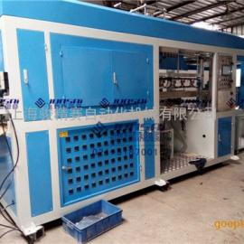 上海骏精赛全自动吸塑机 托盘餐盒吸塑成型设备厂家