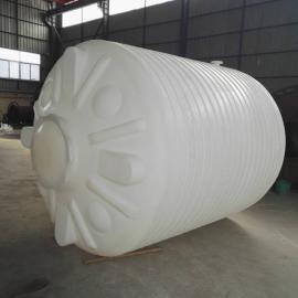 皋兰10方塑料罐10吨絮凝剂储罐塑料水塔塑料大桶(图)