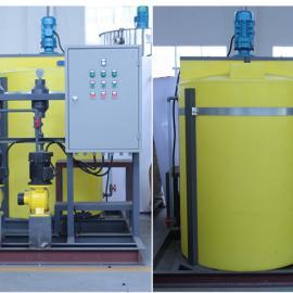 500L中和反应箱,300L贮药箱