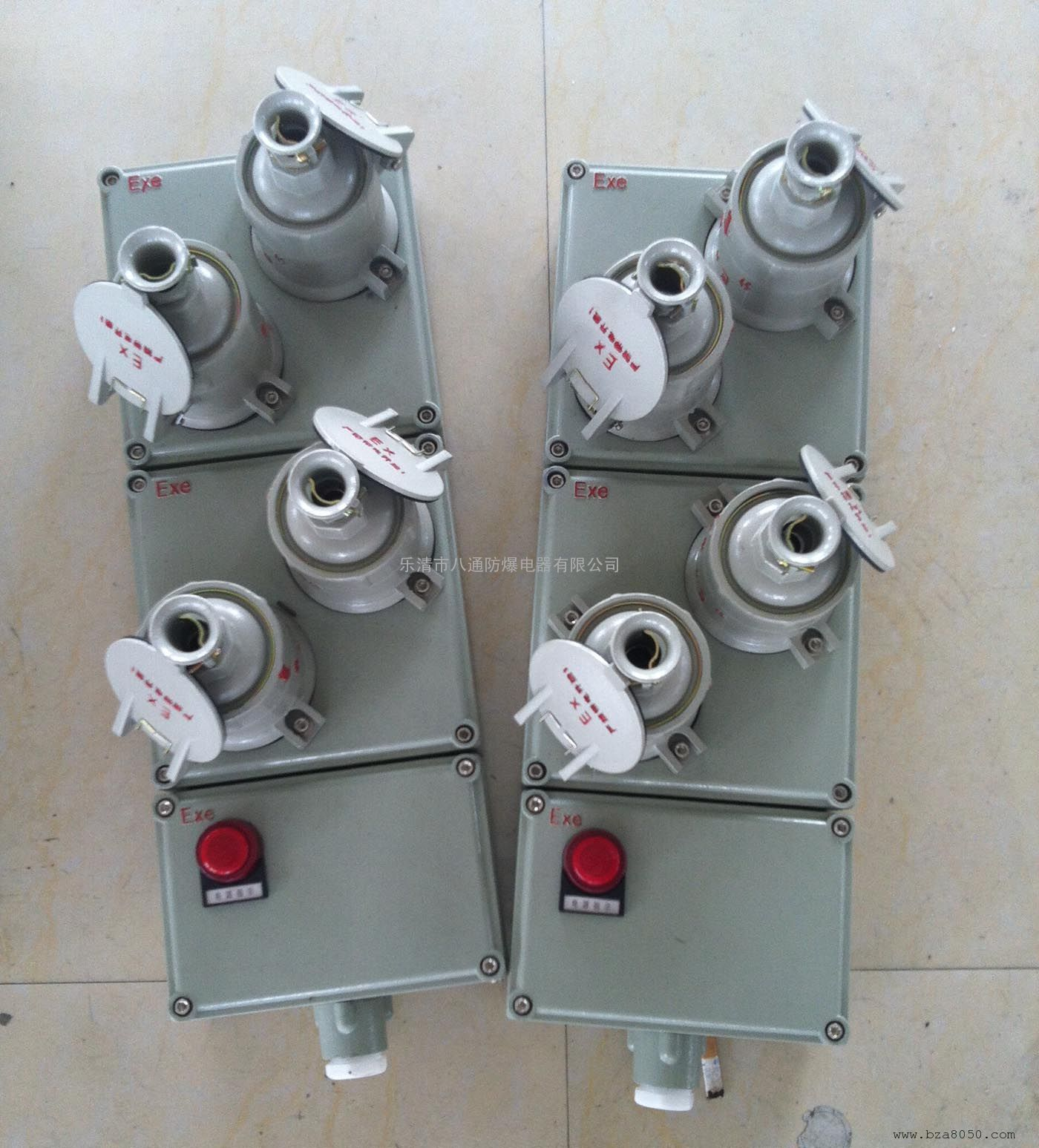 防爆照明动力检修电源插座箱