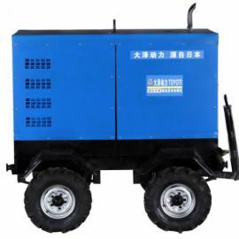 静音双把焊400A柴油发电电焊机价格