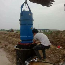 天津东坡防洪排涝专用大流量潜水轴流泵现货