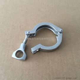 不锈钢快装卡箍/精铸卡箍/304卡箍/卡箍接头
