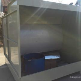 漆雾净化设备水帘柜