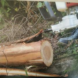 新款便携式木材去皮机/剥树皮机 AT20 优质木工机械