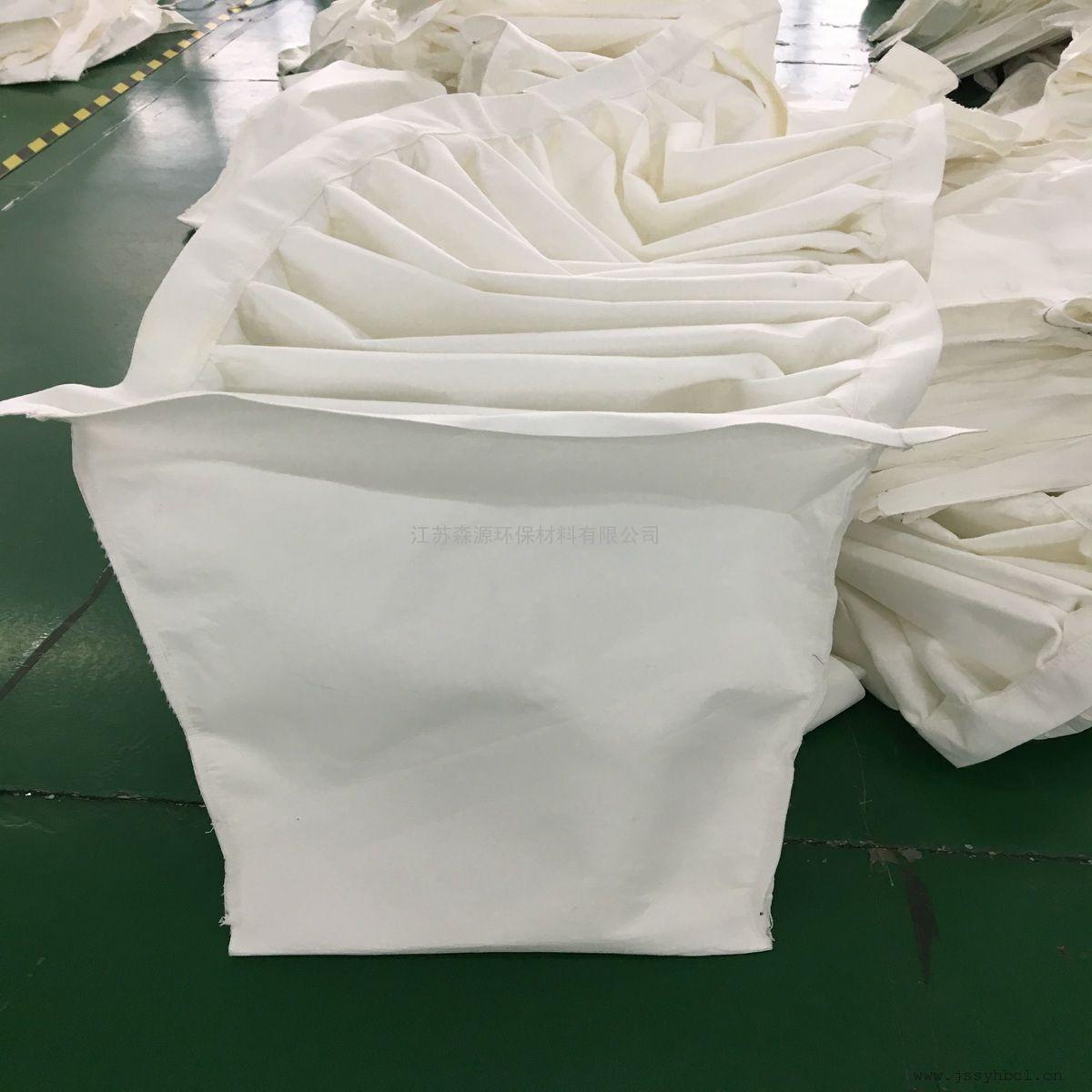 PL单机镇打除尘器专用连布袋外滤式振打连体扁布袋除尘过滤袋