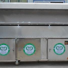 环保净化无烟烧烤车-外型美观