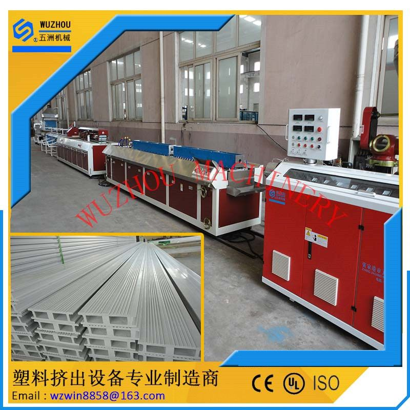 PVC塑木附框挤出机械设备