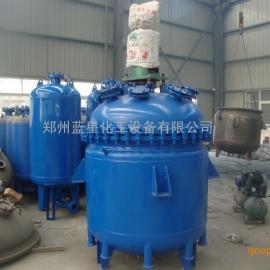 郑州搪瓷电加热反应釜、电加热不锈钢反应釜厂家