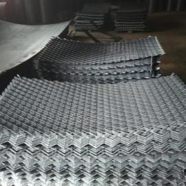 济阳县新式脚手架钢板跳-建筑高空踏板钢板网拉伸而成
