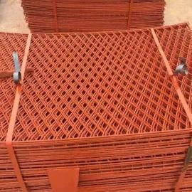 平阴县工地施工高空踏板钢笆片-建筑脚踏网规格、价格