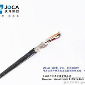 耐油加强型PVC内护套屏蔽控制拖链电缆