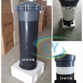 保安过滤器 UPVC材质 滤芯式过滤器 海水处理 耐腐蚀性耐酸碱