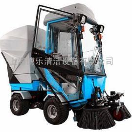 广场用垃圾自卸多功能燃油式扫地车扫路车