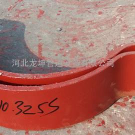 A10四螺栓管夹-碳钢镀锌-四螺栓管卡河北龙坤管道设备