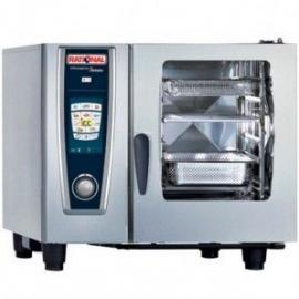 德国RATIONAL蒸烤箱SCC61G 乐信燃气6盘烤箱
