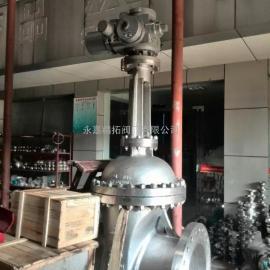 电动开关不锈钢闸阀 法兰不锈钢闸阀厂家 Z941H-40P