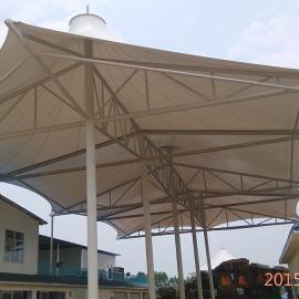 山东加油站膜结构工程 山东膜结构汽车棚