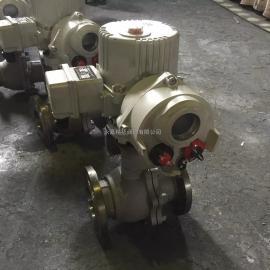 调节型电动球阀价格 精小型电动球阀Q941F-40C
