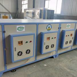 UV净化废气除味设备(废气治理设备)厂家-河北绿森