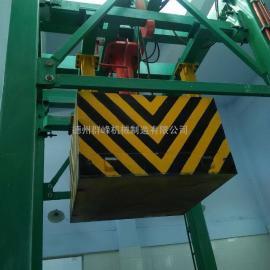 垂直式垃圾压缩设备,垂直垃圾压缩站