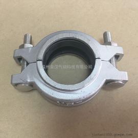 【厂家直销】不锈钢维多利亚卡子/304沟槽卡箍/靠贝林卡箍