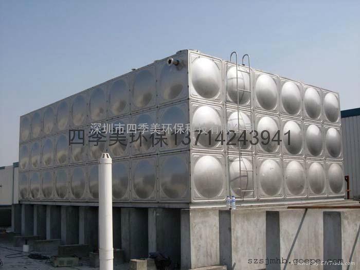 深圳不锈钢水箱 不锈钢储水箱 SUS304材质,深圳水箱