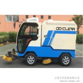 道路清扫车 小型扫地车 驾驶式电动清扫车