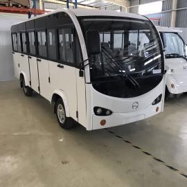 利凯士得景区专用20座电动观光车 大学运营四轮电动公交车