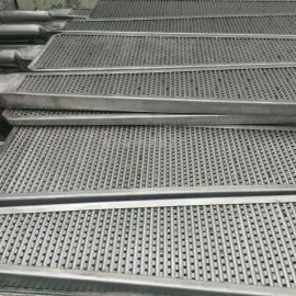 不锈钢扇形过滤网板-板框压滤机滤板