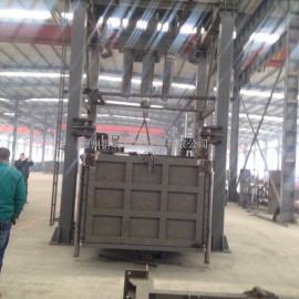 四柱三缸垂直式垃圾压缩设备,垃圾中转站
