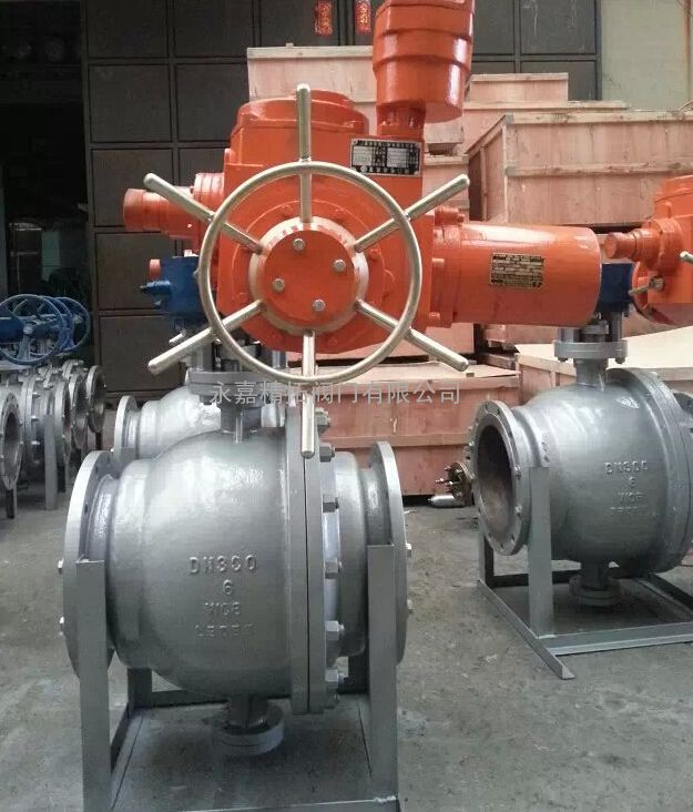 Q947Y-25C 电动碳化钨球阀 电动固定式硬密封球阀