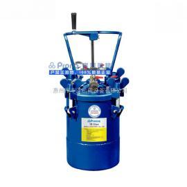 宝丽10升压力桶10L手动搅拌涂料压力桶RT-10M压力罐