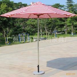 铝合金中柱太阳伞 花园伞 庭院伞 户外大伞