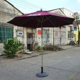 户外休闲家具配套太阳伞 中柱铝合金遮阳伞 休闲大伞