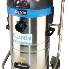 凯德威DL-1245T低噪音车库水泥地吸灰尘粉尘工业吸尘器