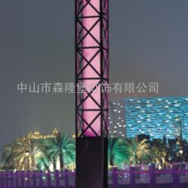 景观灯节能户外3米方灯定做灯罩透光石材质亚克力图样保修品牌