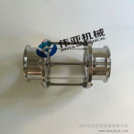 专业加工不锈钢卫生级快装管道视镜304