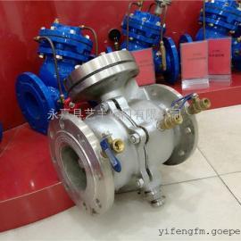 不锈钢DSBP741X低阻力倒流防止器工作原理