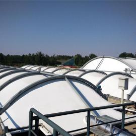污水池加盖除臭,污水池膜加盖,废臭气收集净化处理
