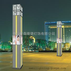 景观灯户外庭院灯定制方形灯柱景观灯带耐锈蚀照明工程品类