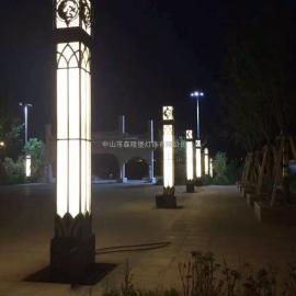 仿云石景观灯大型广场灯别样定制款样海量仿古欧式方形
