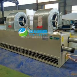 陕西车间大门用电辅热型热水空气幕RM-2512L-S