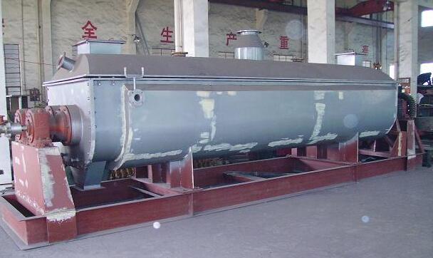 污泥专用烘干机 桨叶干燥机 |经久耐用