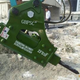 液压72毫米工兵破碎锤ZFB破碎锤炮头机 小型挖掘机装配