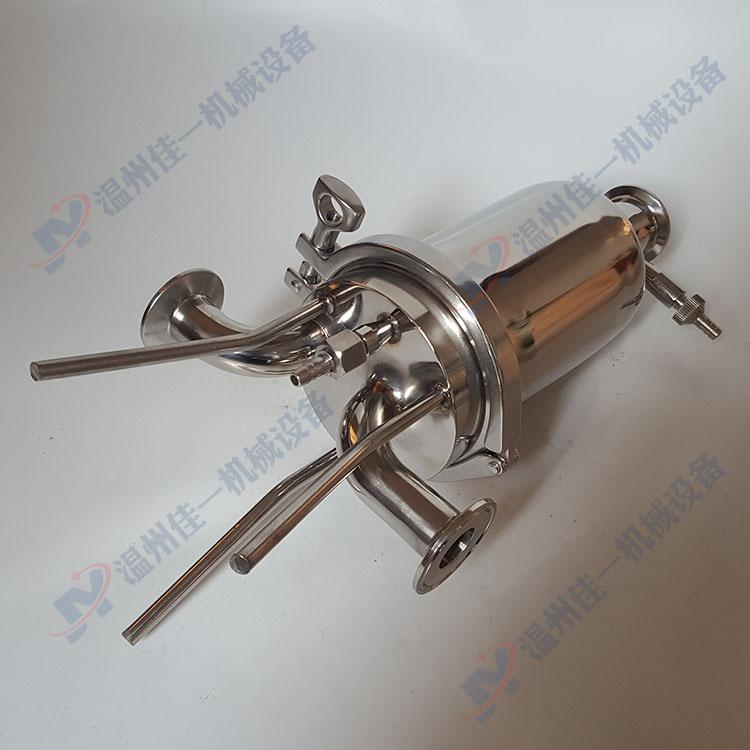 温州产不锈钢终端过滤器 空压机终端气体过滤器 微孔膜过滤器